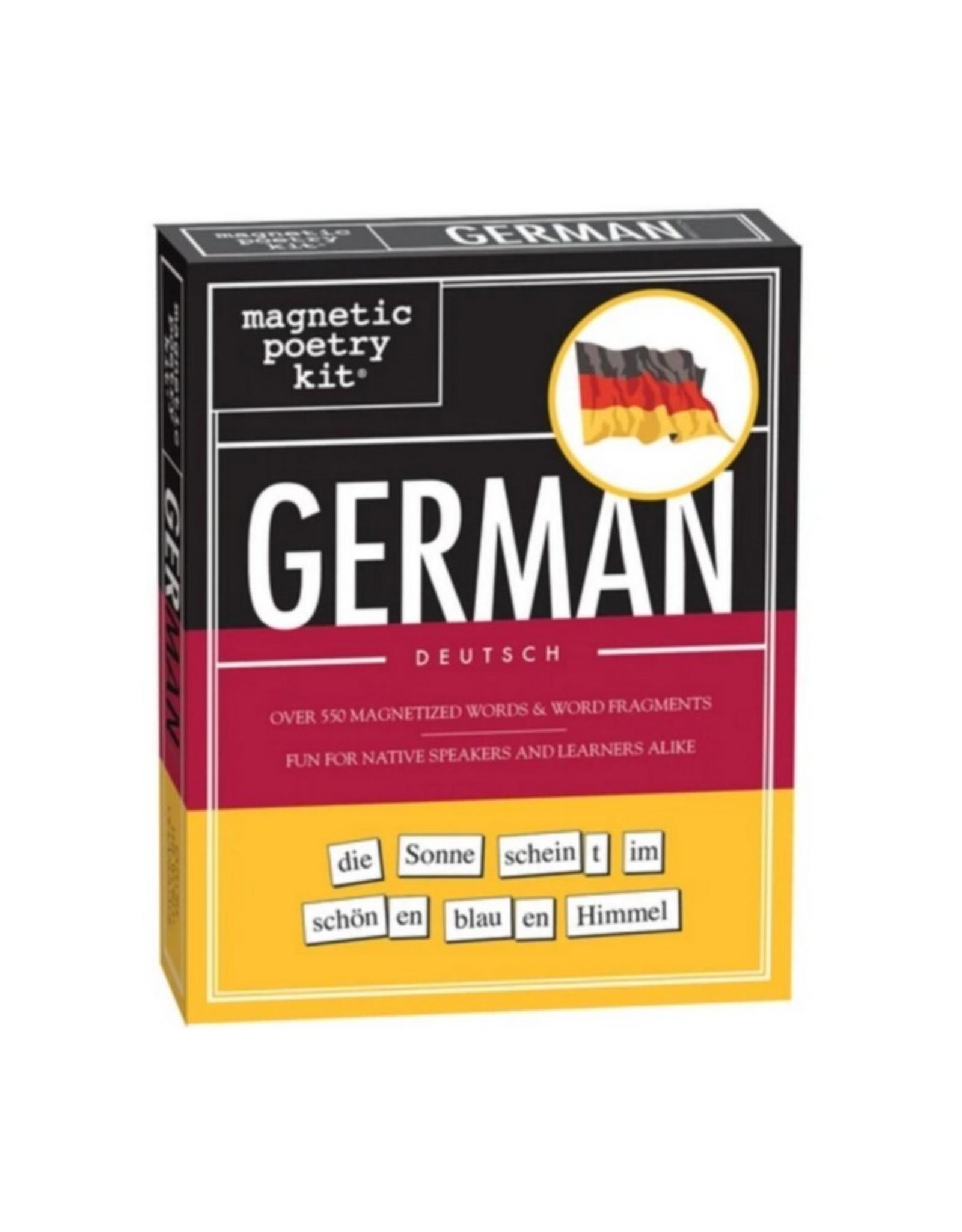 Magnetic Poetry Magnetische Koelkast Poezie Duits