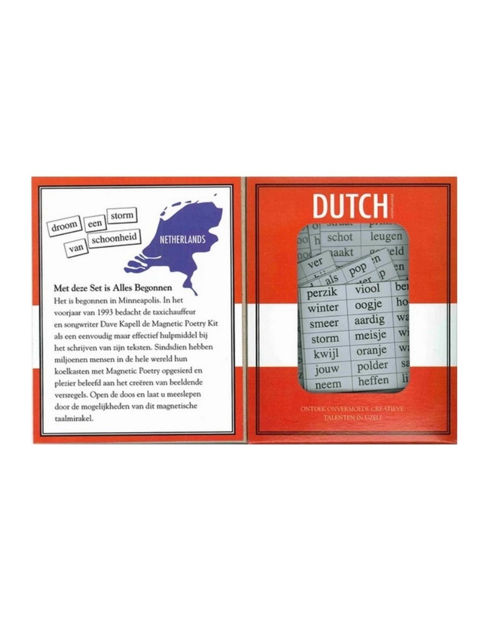 Magnetic Poetry Magnetische Koelkast Poezie Nederlands