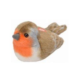 Wild Republic Vogel Roodborstje met geluid