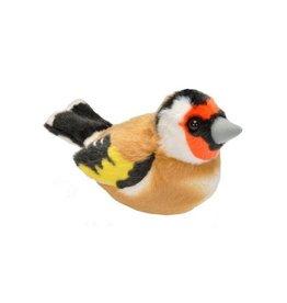 Wild Republic Vogel Distelvink/Putter met geluid