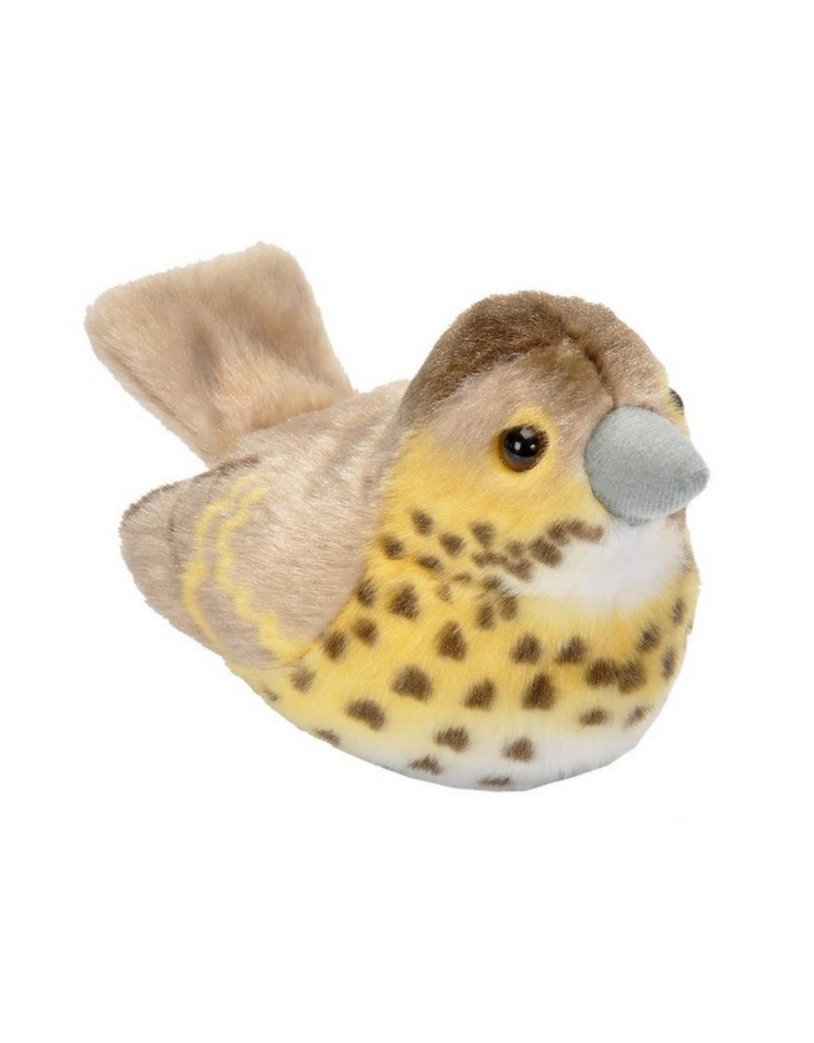 Wild Republic Vogel Zanglijster met geluid