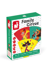 Janod Spel Happy Family Circus