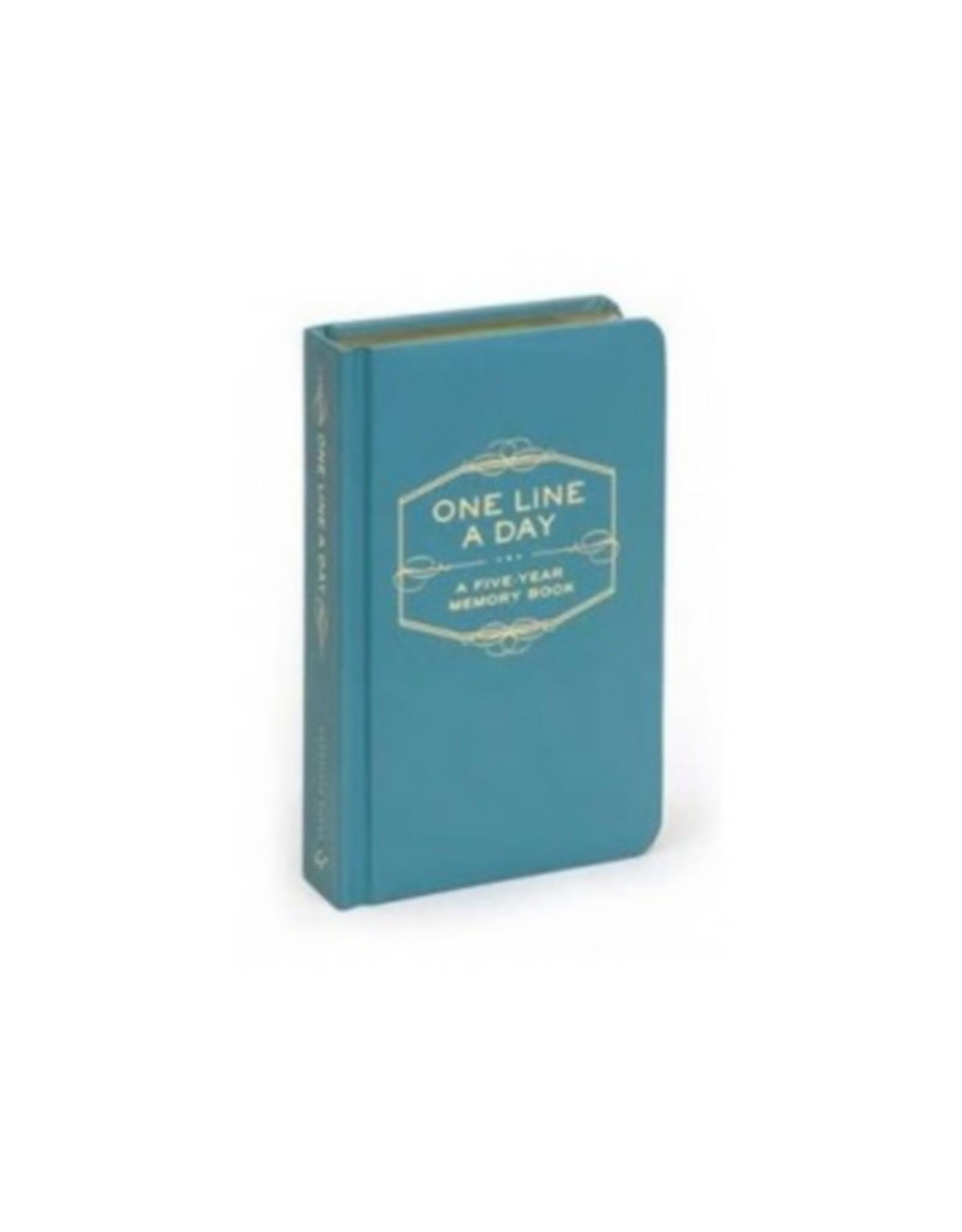 Chronicle Books One Line A Day 5 jaar Blauw