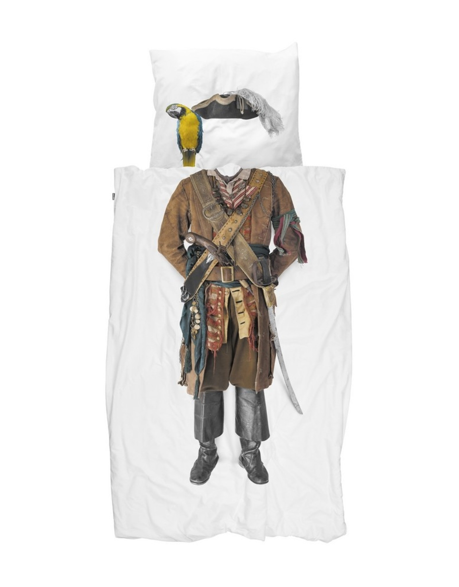 Snurk BV Dekbedovertrek Piraat