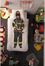 Snurk BV Dekbedovertrek Brandweerman