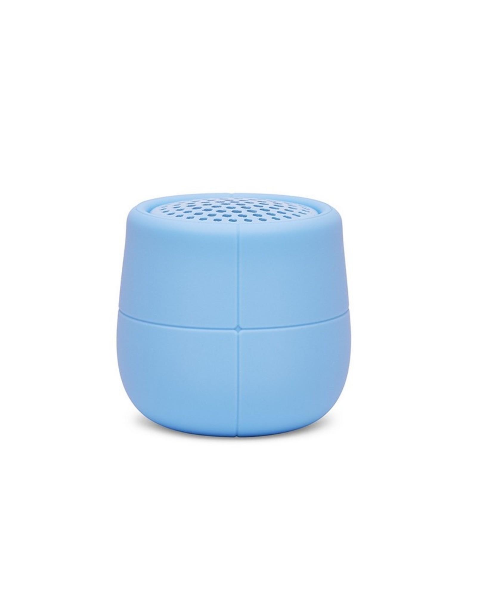 Lexon Speaker Bluetooth Mino X Licht Blauw