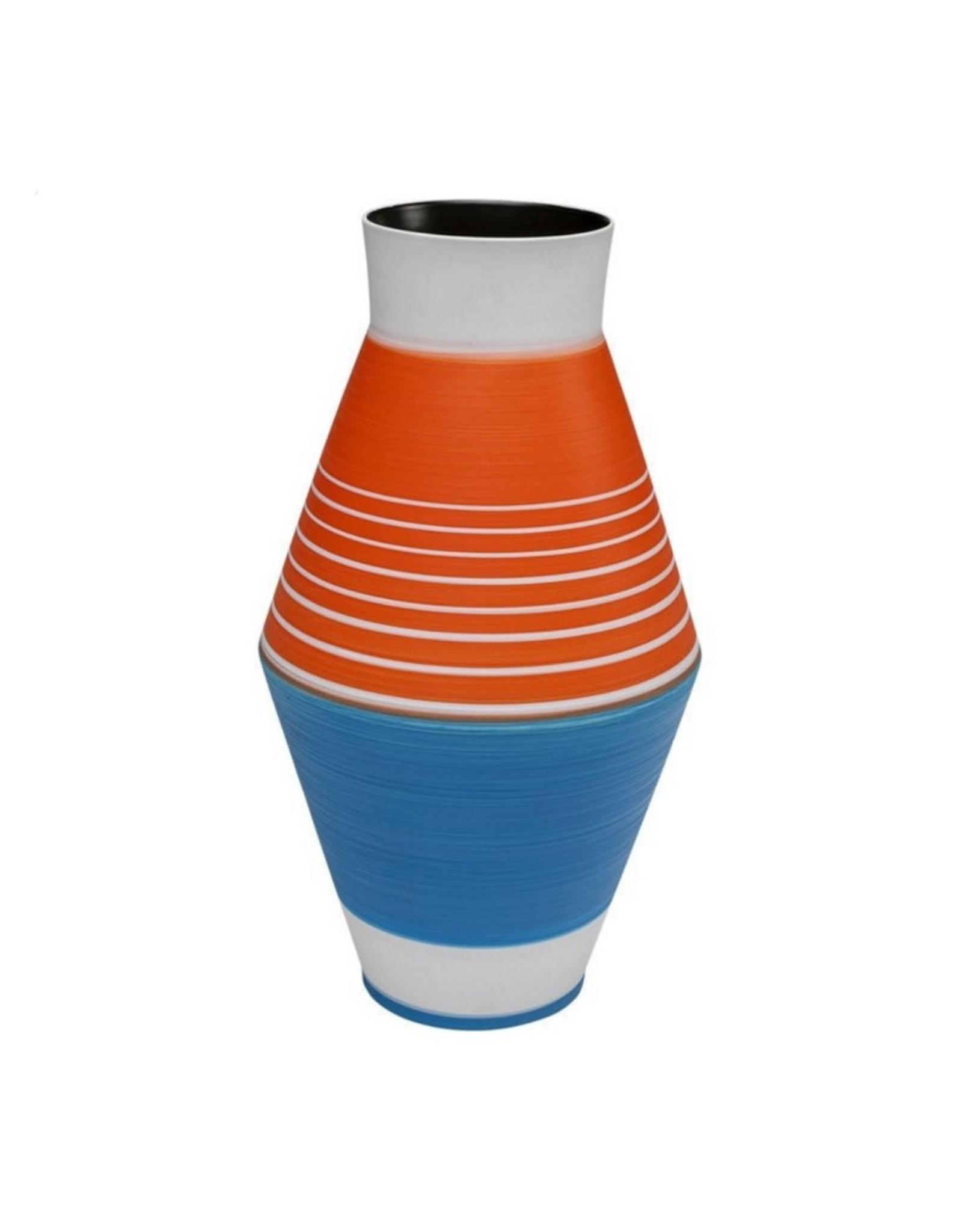 Kare Design Vaas Happy Day Blauw 37cm