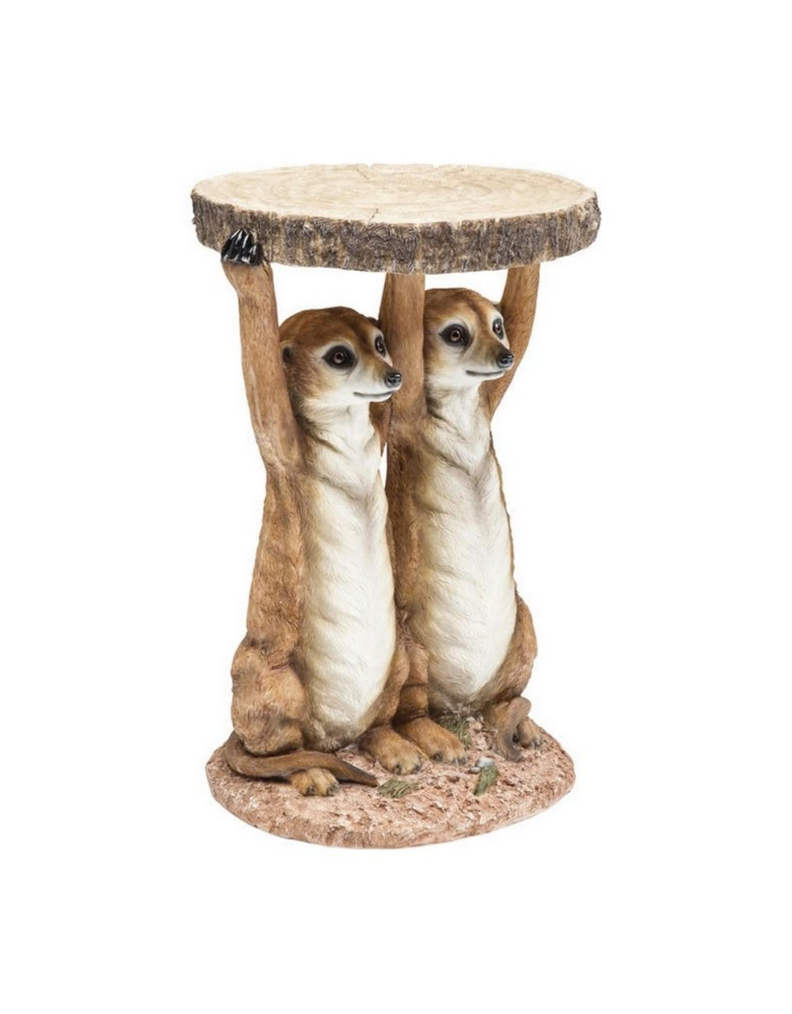 Kare Design Side Table Stokstaartjes
