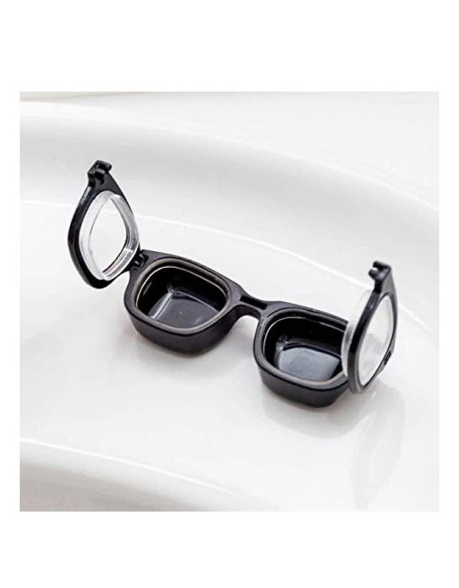 Bitten Contactlenzendoos Retro Glasses