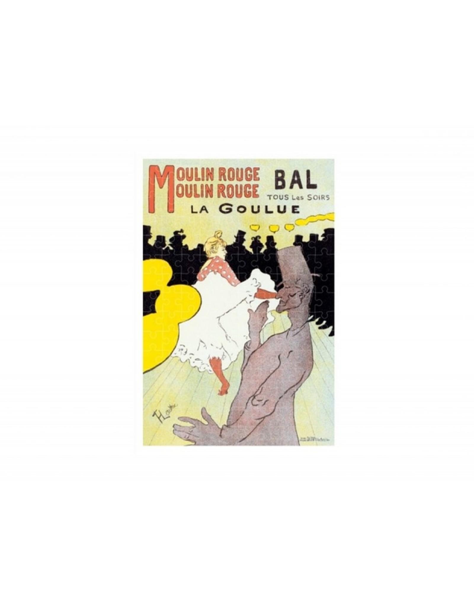 Londji Micro Puzzel La Goulue Toulouse-Lautrec