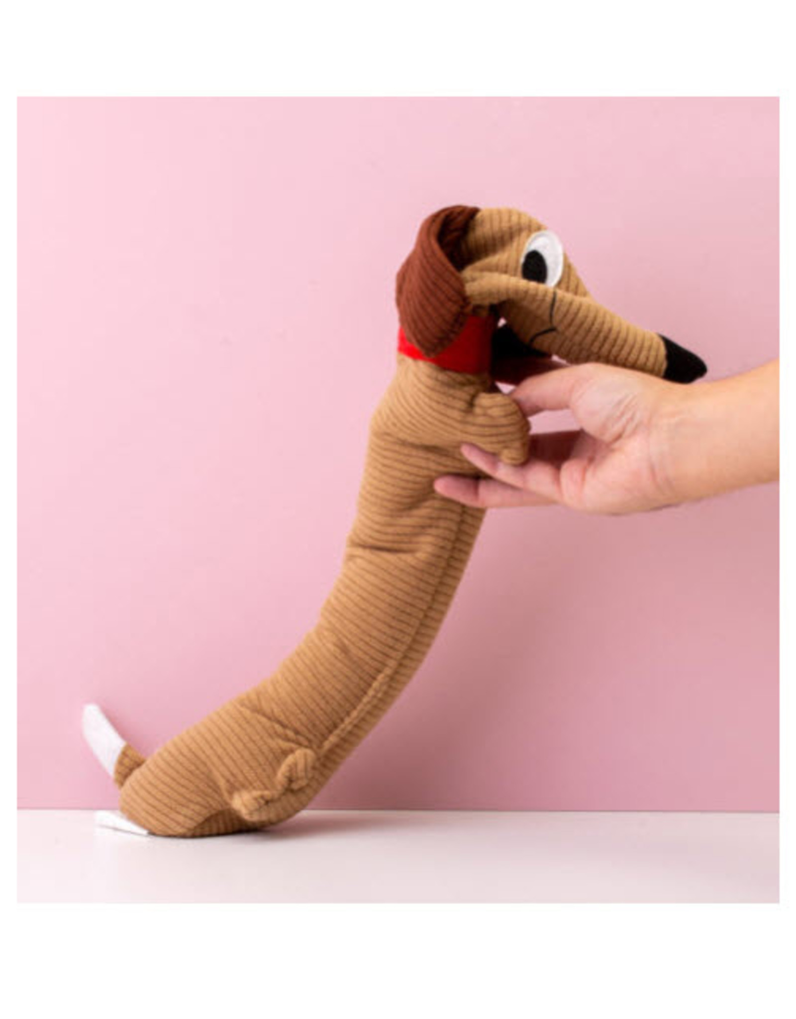 Bitten Huggable Sausage Dog