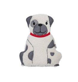 Bitten Huggable Boxer Dog