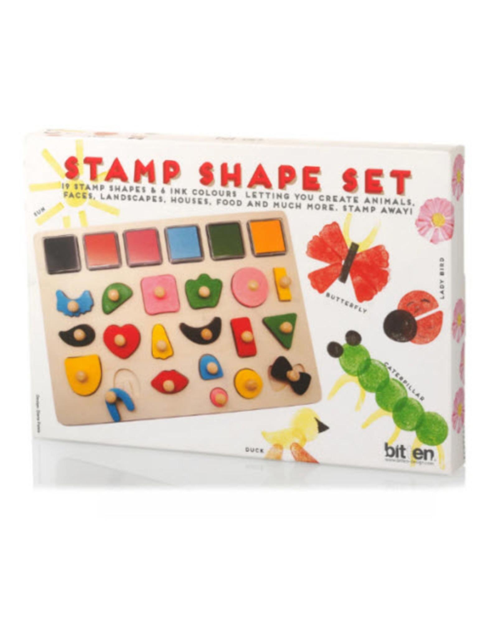 Bitten Stempelset Stamp Shape