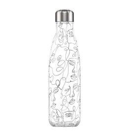Chillys Bottles Chilly´s Bottle Line art Faces 500ml