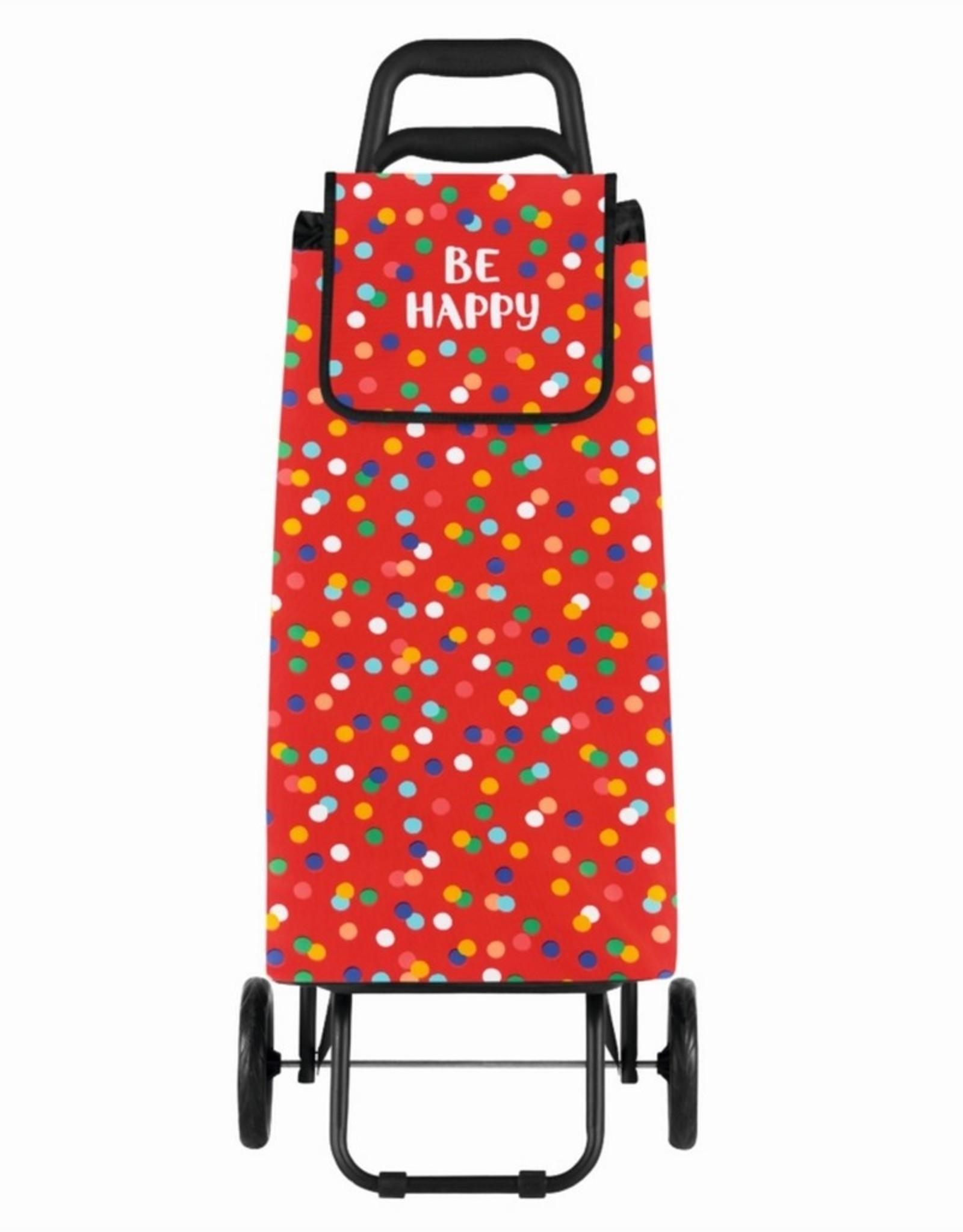 Derriere la Porte Boodschappenwagen Be Happy 6 Wielen