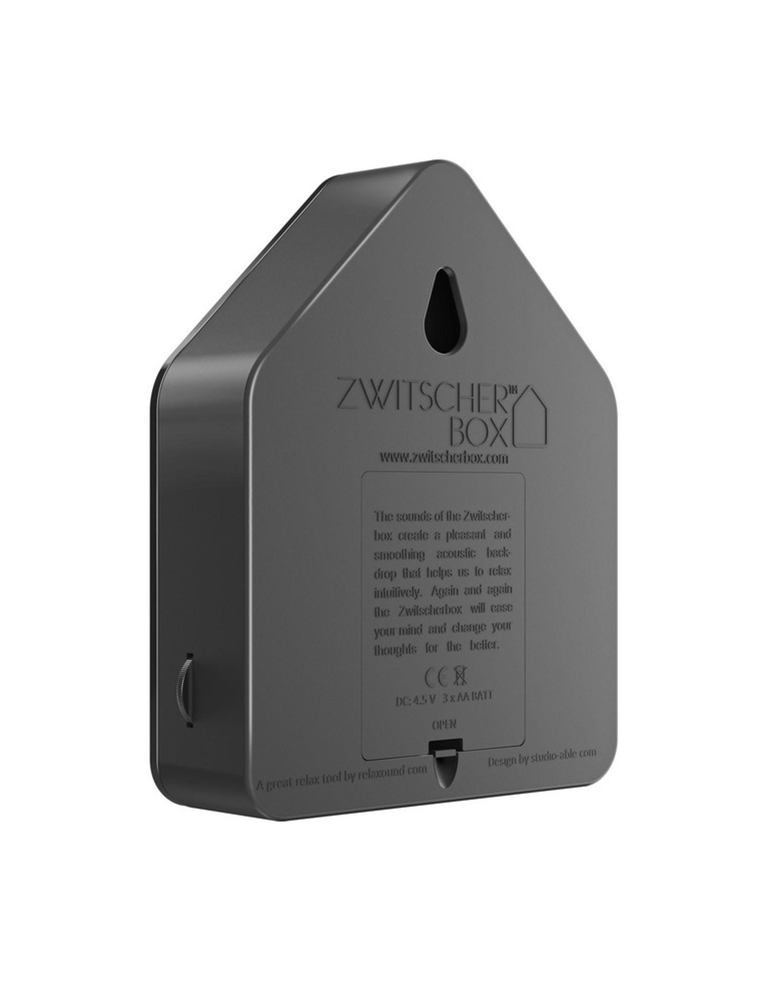 Relaxound Zwitscherbox Special Edition Zwart