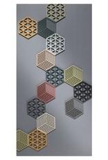 ZONE Denmark Pannenonderzetter Hexagon Raisin