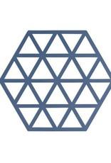 ZONE Denmark Pannenonderzetter Triangles Denim
