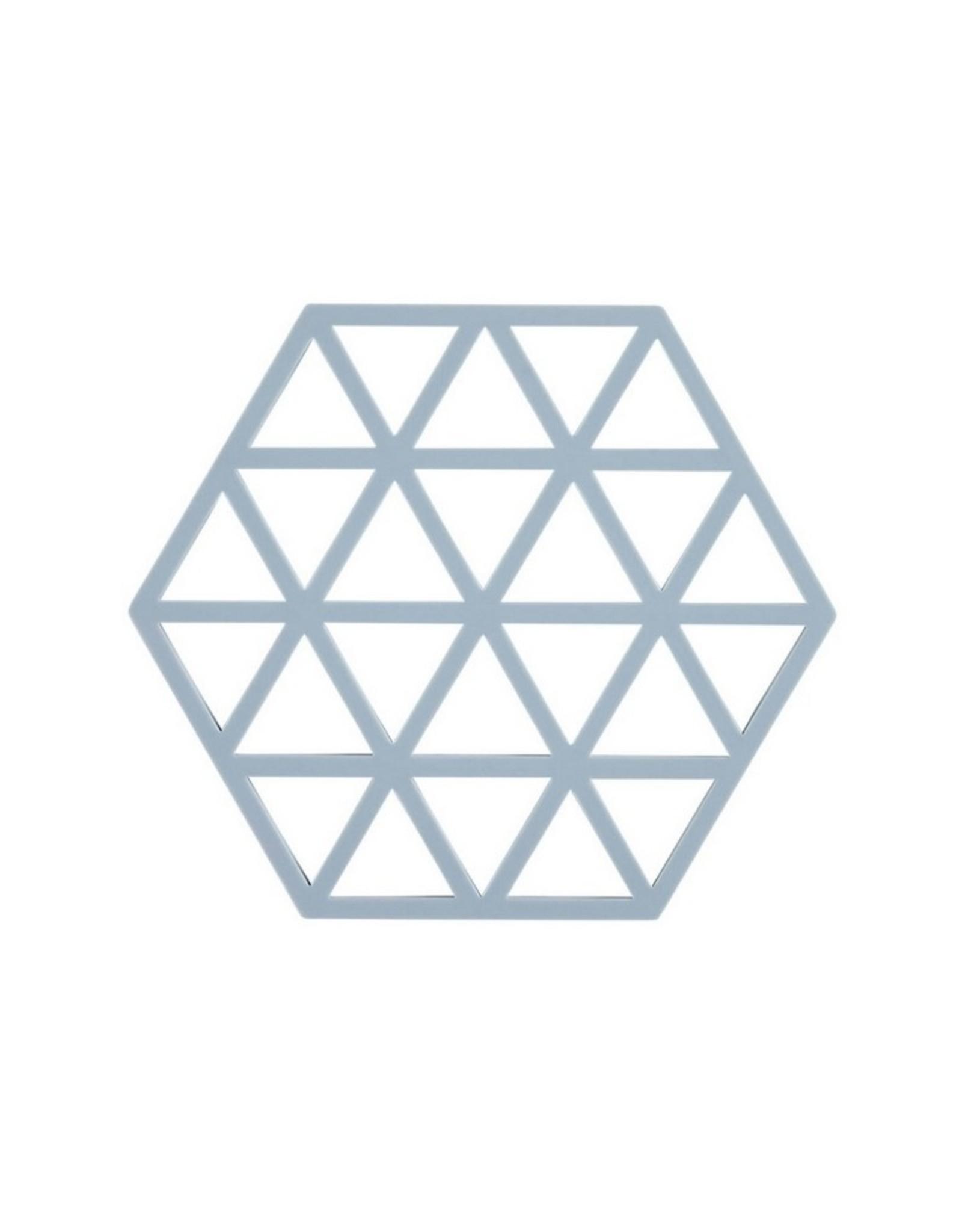 ZONE Denmark Pannenonderzetter Triangles Sky