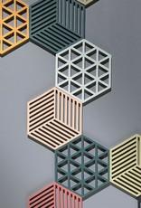 ZONE Denmark Pannenonderzetter Triangles Cactus