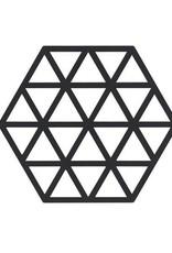 ZONE Denmark Pannenonderzetter Triangles Black