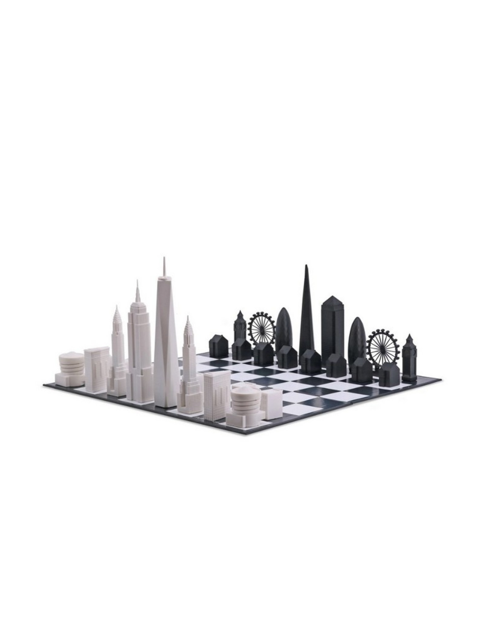 Skyline Chess Schaakspel London vs New York