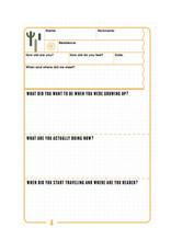 Uitgeverij Snor Friendshipbook for Backpackers