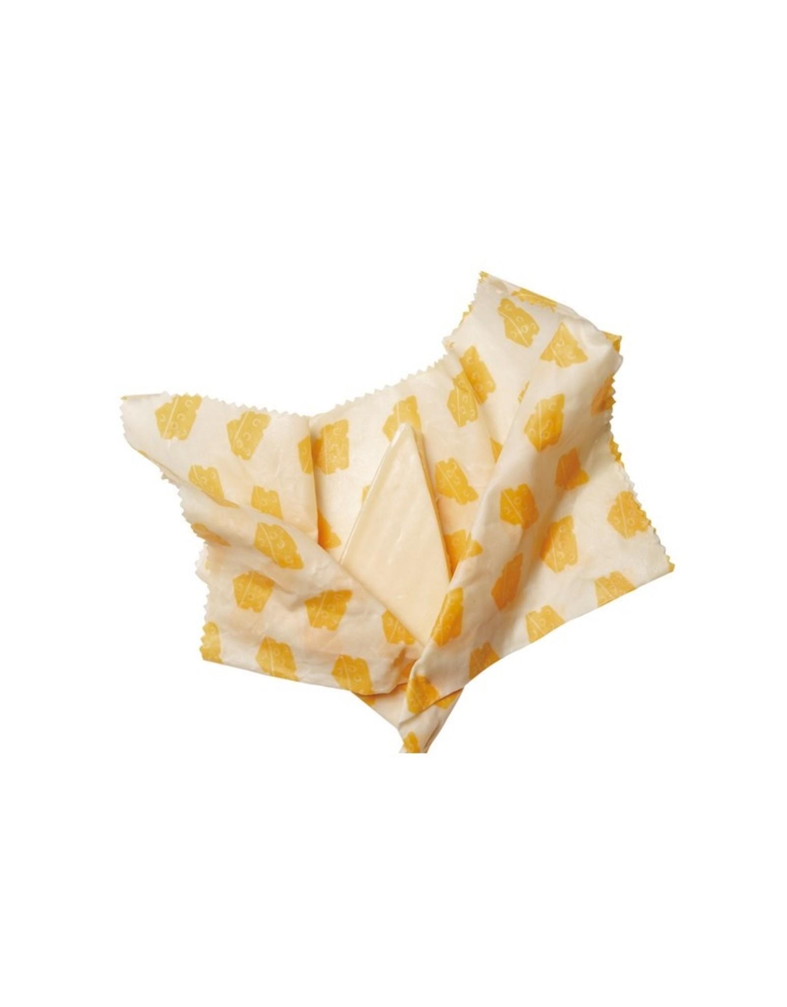 Bee's Wax Wraps Bee's Wax Food Wraps Kaas 3 stuks