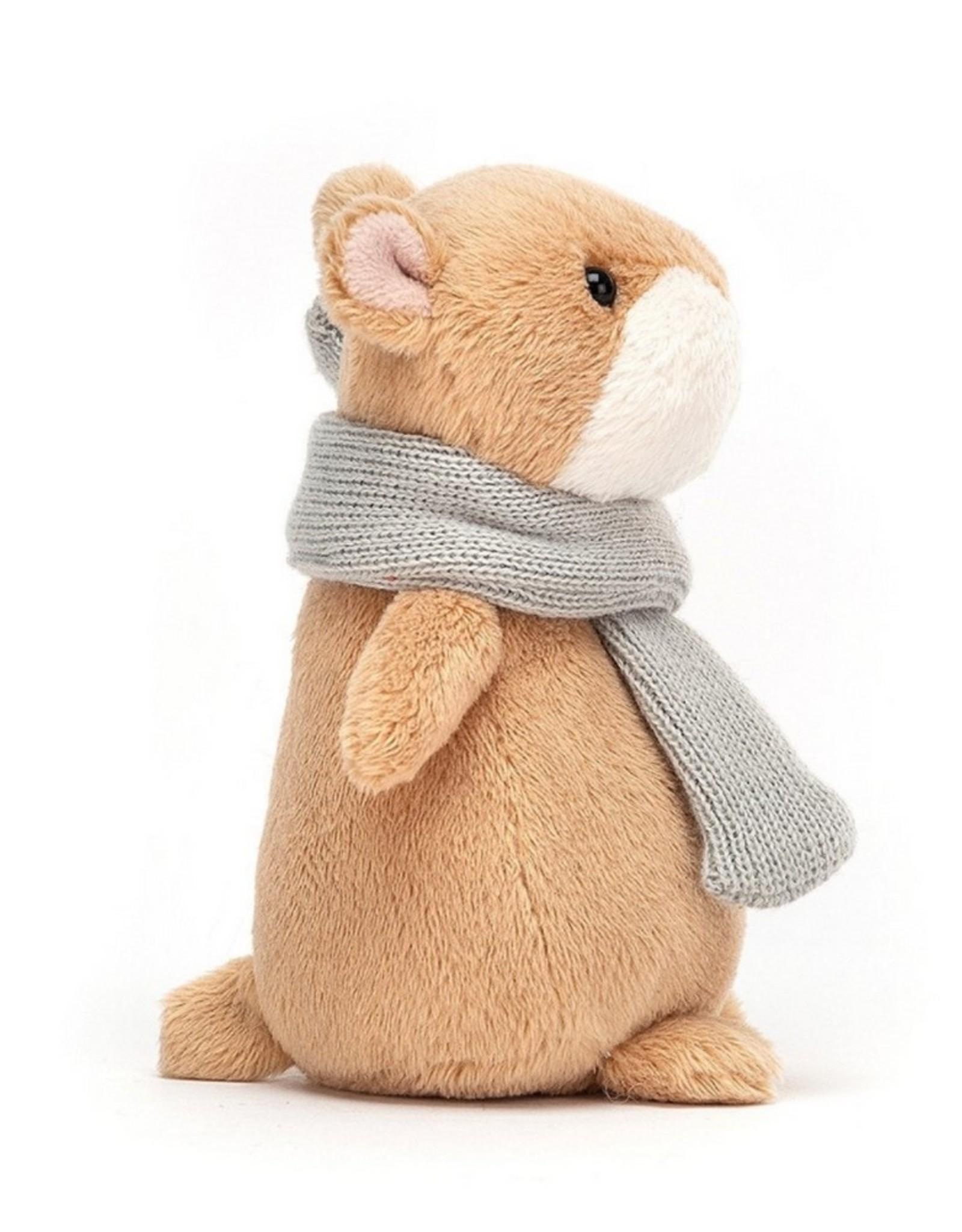 Jellycat Knuffel Happy Cinnamon Hamster