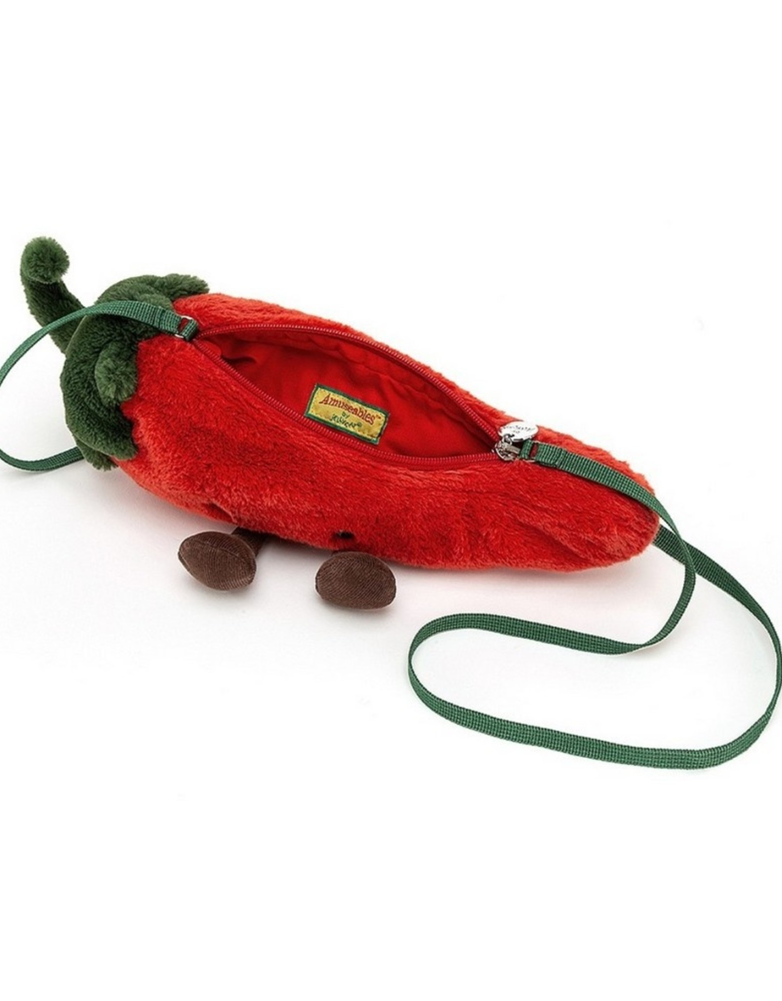 Jellycat Tasje Amuseable Chilli Bag