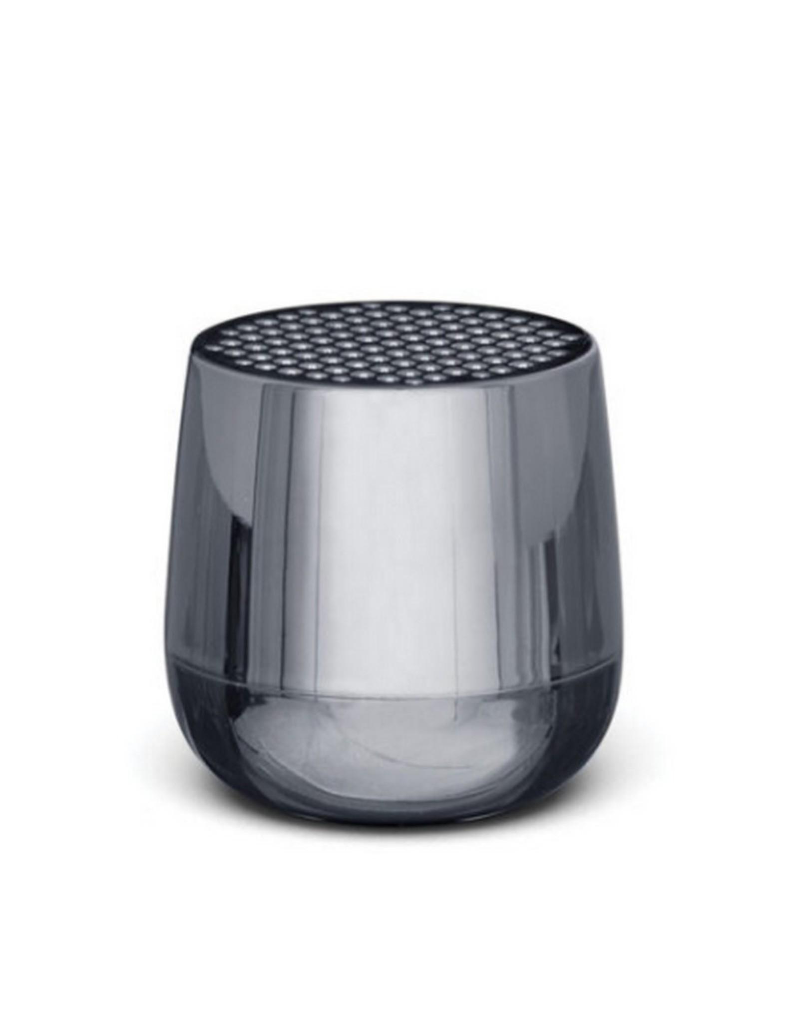 Lexon Speaker Bluetooth Mino + Metallic Grey