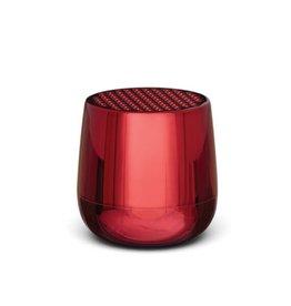 Lexon Speaker Bluetooth Mino + Metallic Red