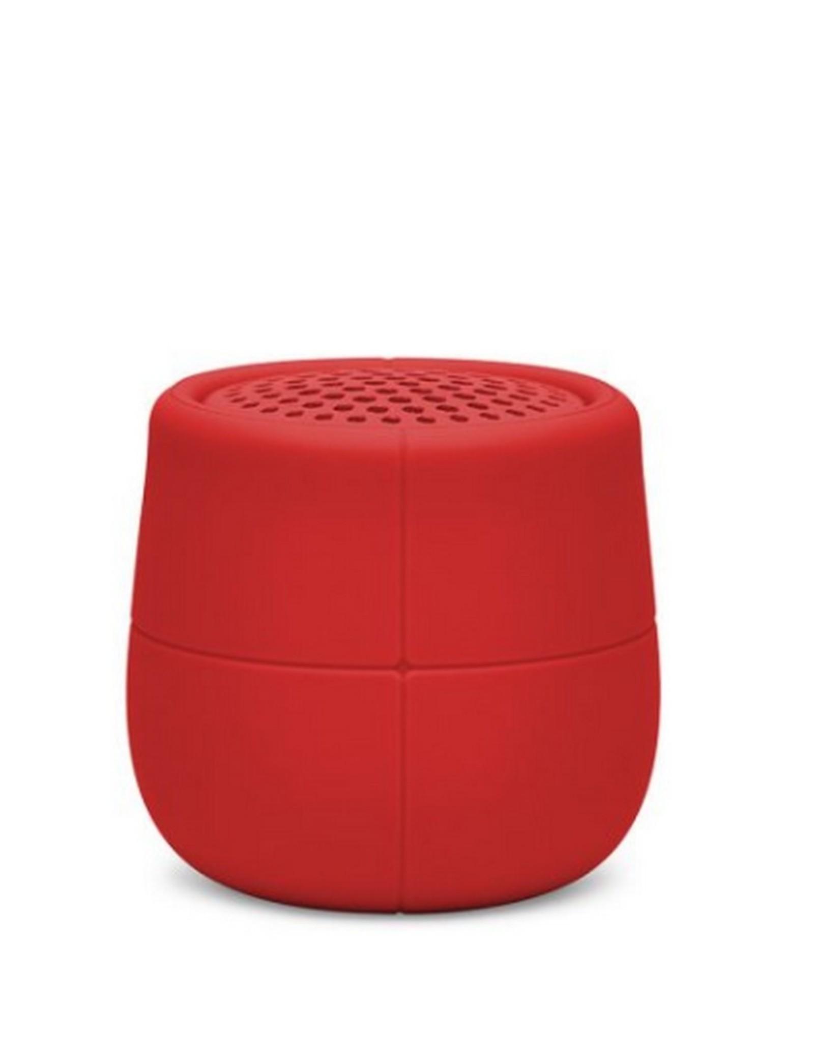 Lexon Speaker Bluetooth Mino X Rood