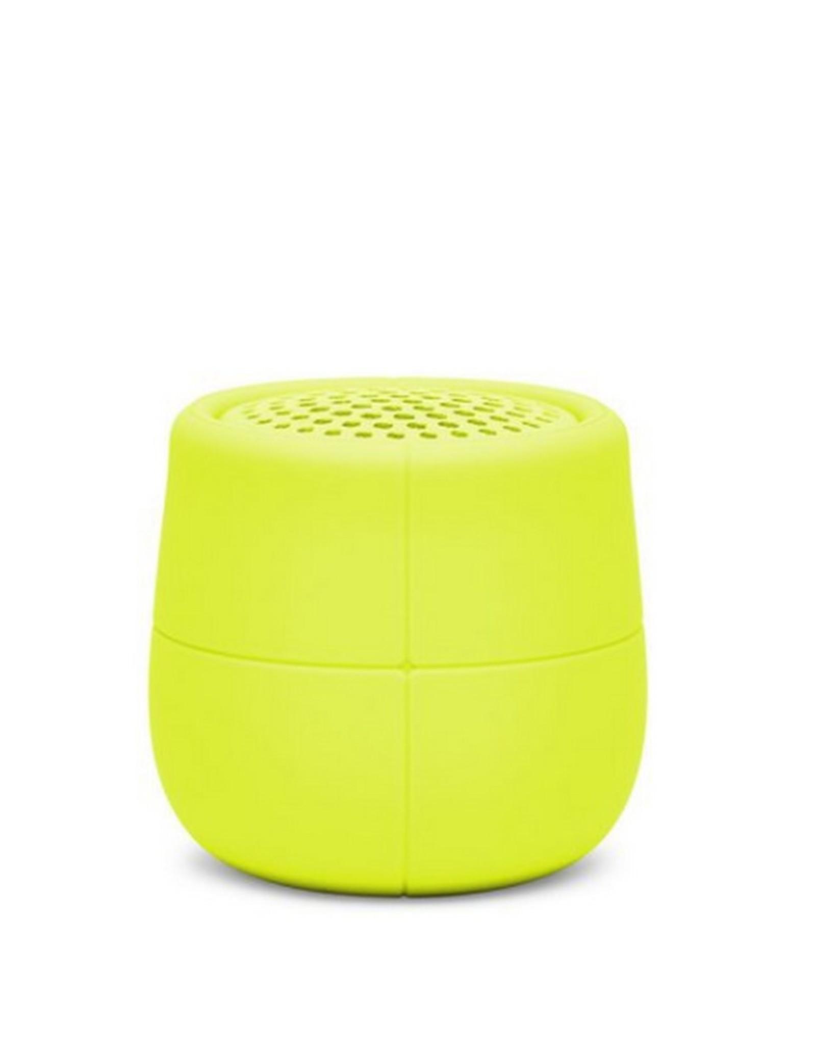 Lexon Speaker Bluetooth Mino X Geel