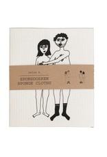 Helen B Vaatdoek Naked Couple 2 stuks
