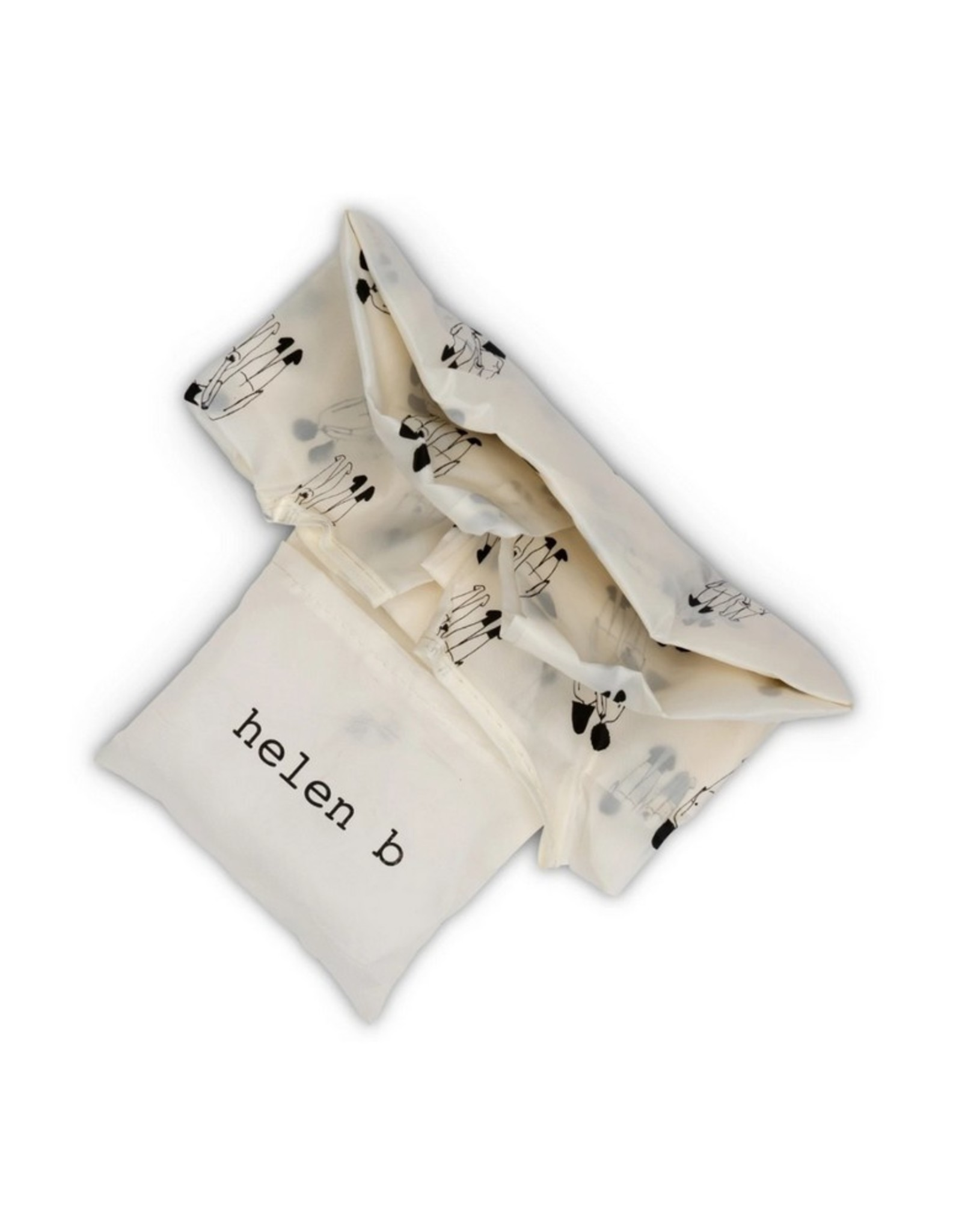 Helen B Opvouwbare tas Naked Couple Back