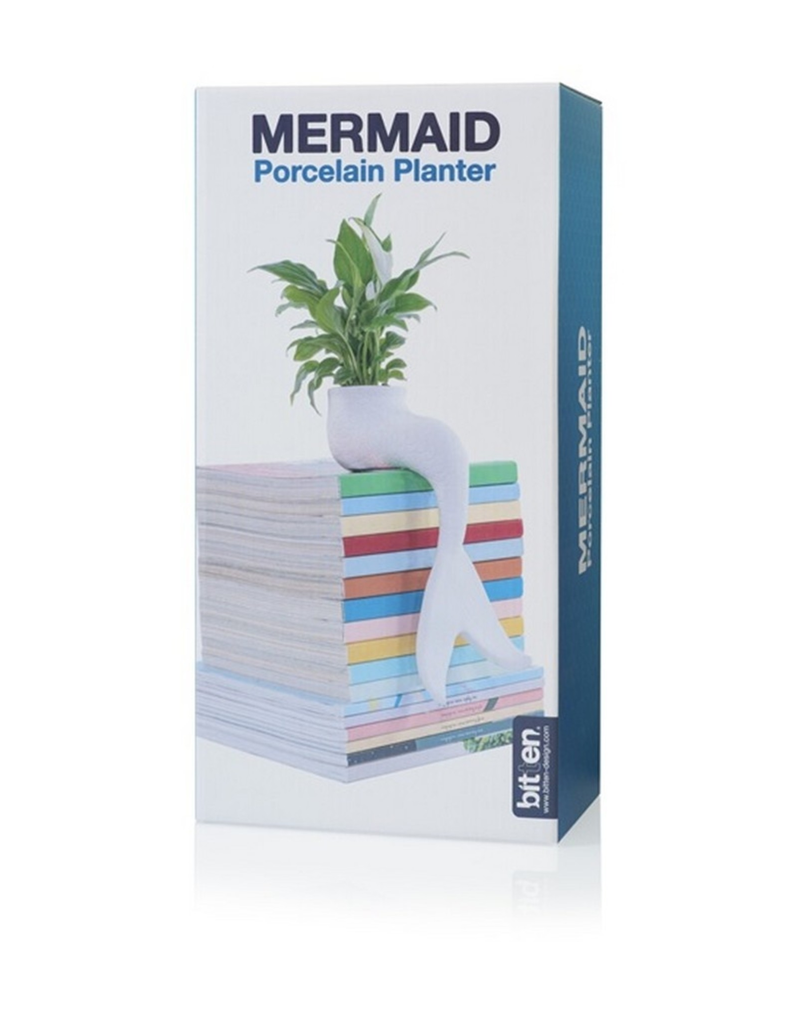 Bitten Planter Mermaid