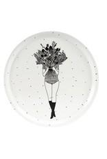 Helen B Dienblad Hout Flower Girl