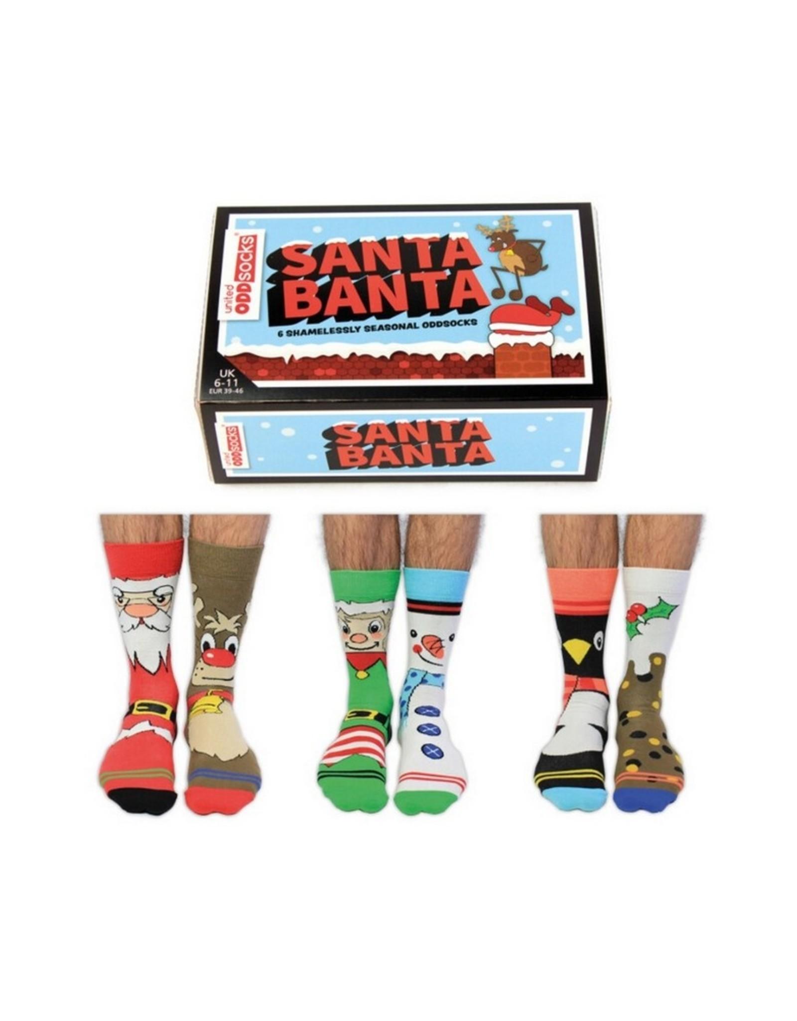 UnitedOddsocks Sokken Santa Banta 39-46