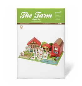 Pukaca Paper Toys The Farm 6+