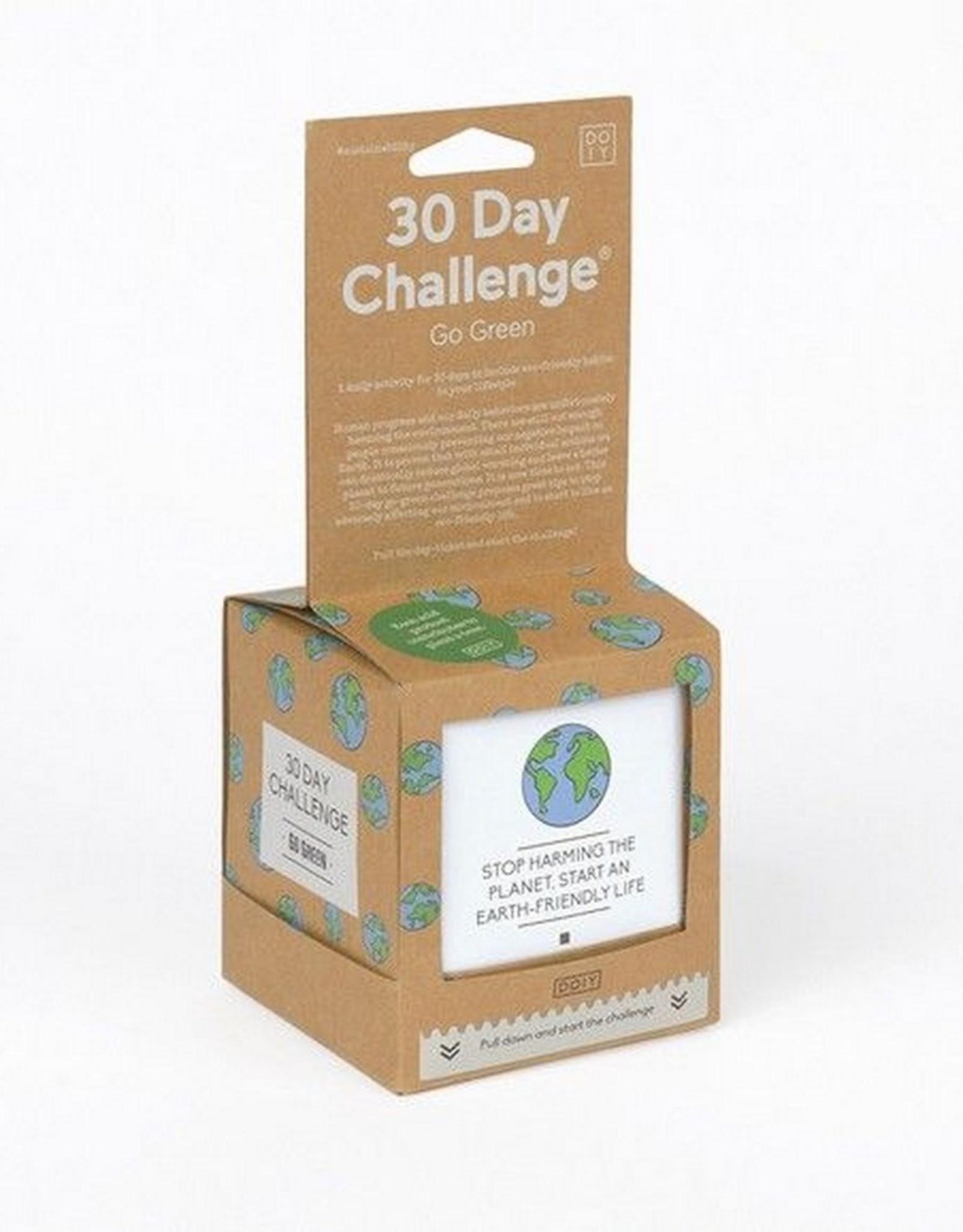 Doiy 30 Days Challenge Go Green