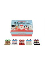 Cucamelonkids Sokken My First Christmas 0-12 mnd
