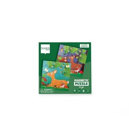 Scratch Europe Magnetisch Puzzelboek To Go Bosdieren