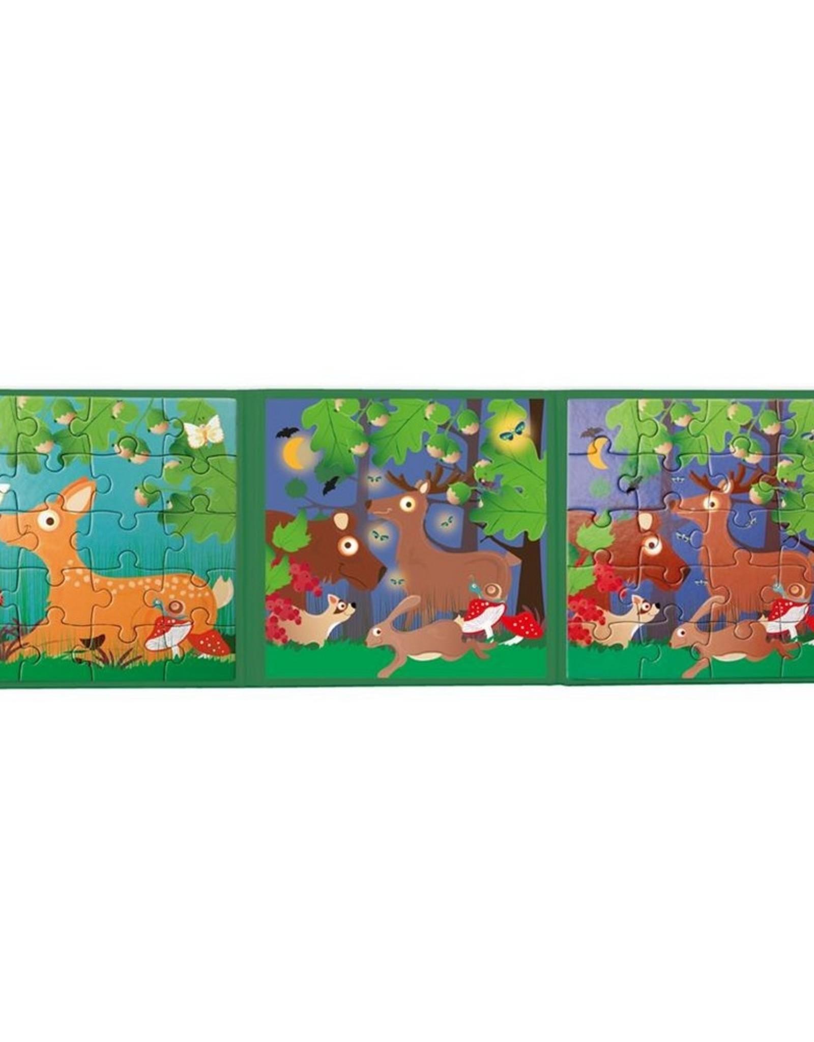 Scratch Europe Magnetisch Puzzelboek To Go Bosdieren
