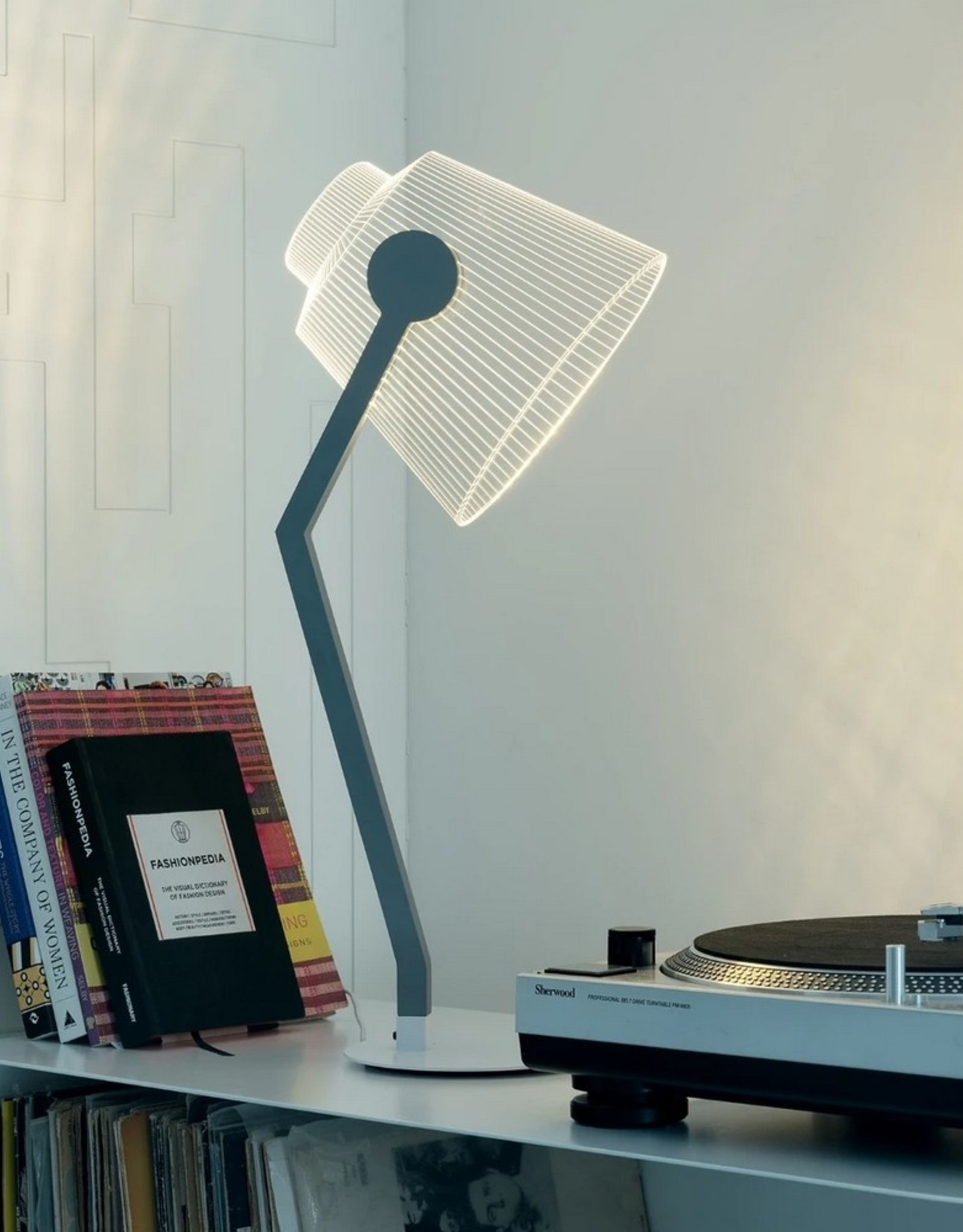 Studio Cheha Tafellamp Media Lamp Grijs
