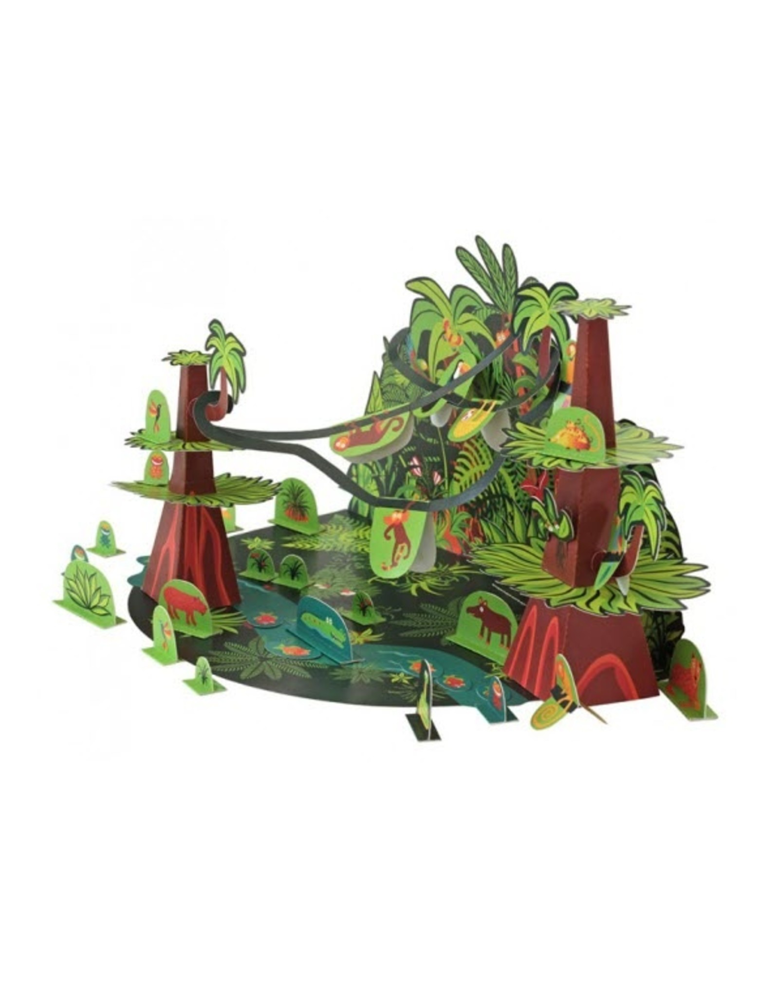 Pukaca Paper Toys Tropical Forest 7+