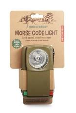 Kikkerland Zaklamp Morse Code Light