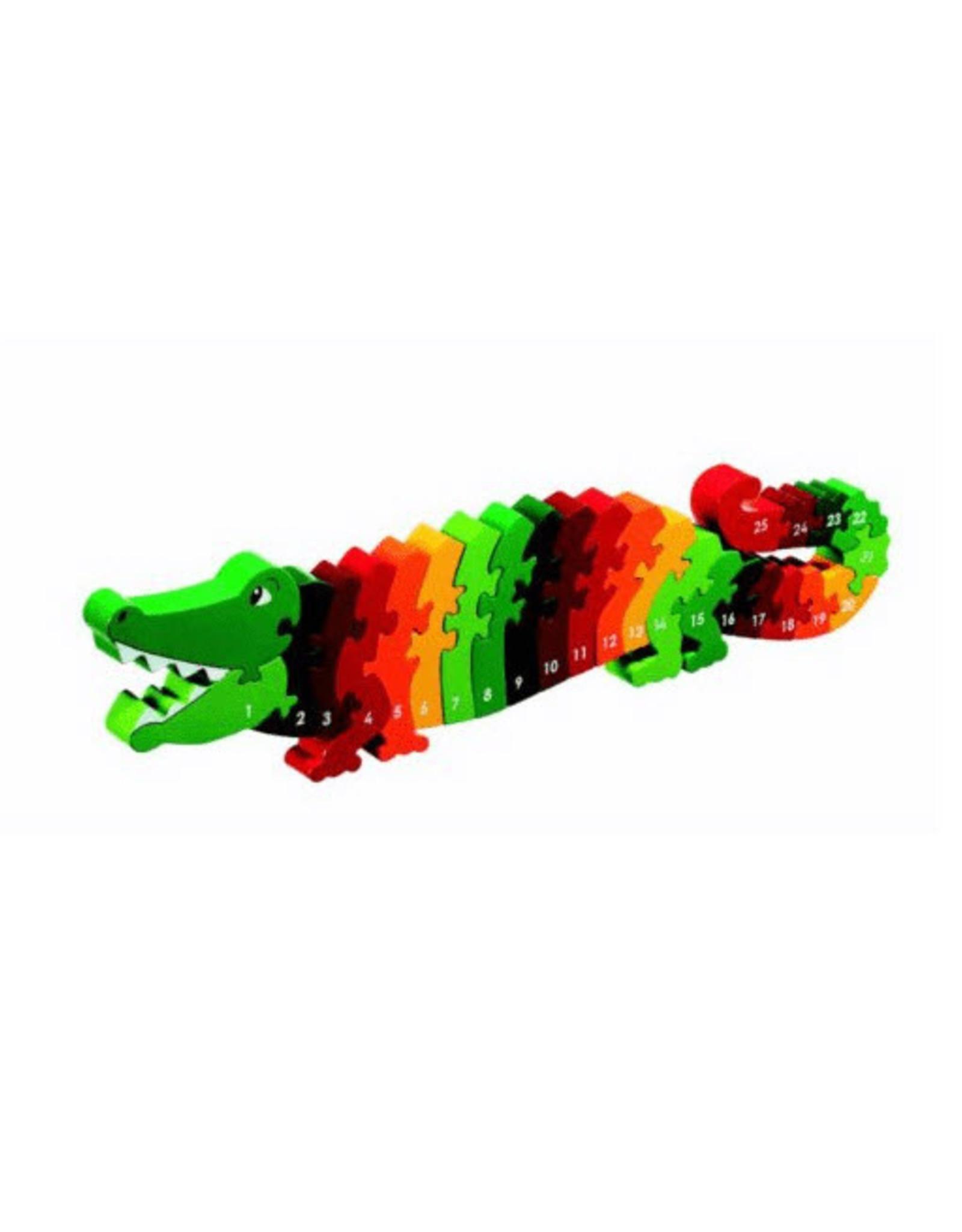 Lanka Kade Puzzel Hout Krokodil