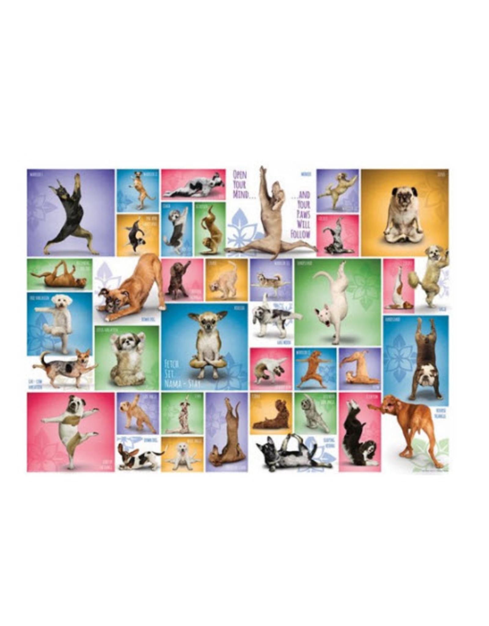 Eurographics Puzzel Yoga Dogs 1000 stukjes