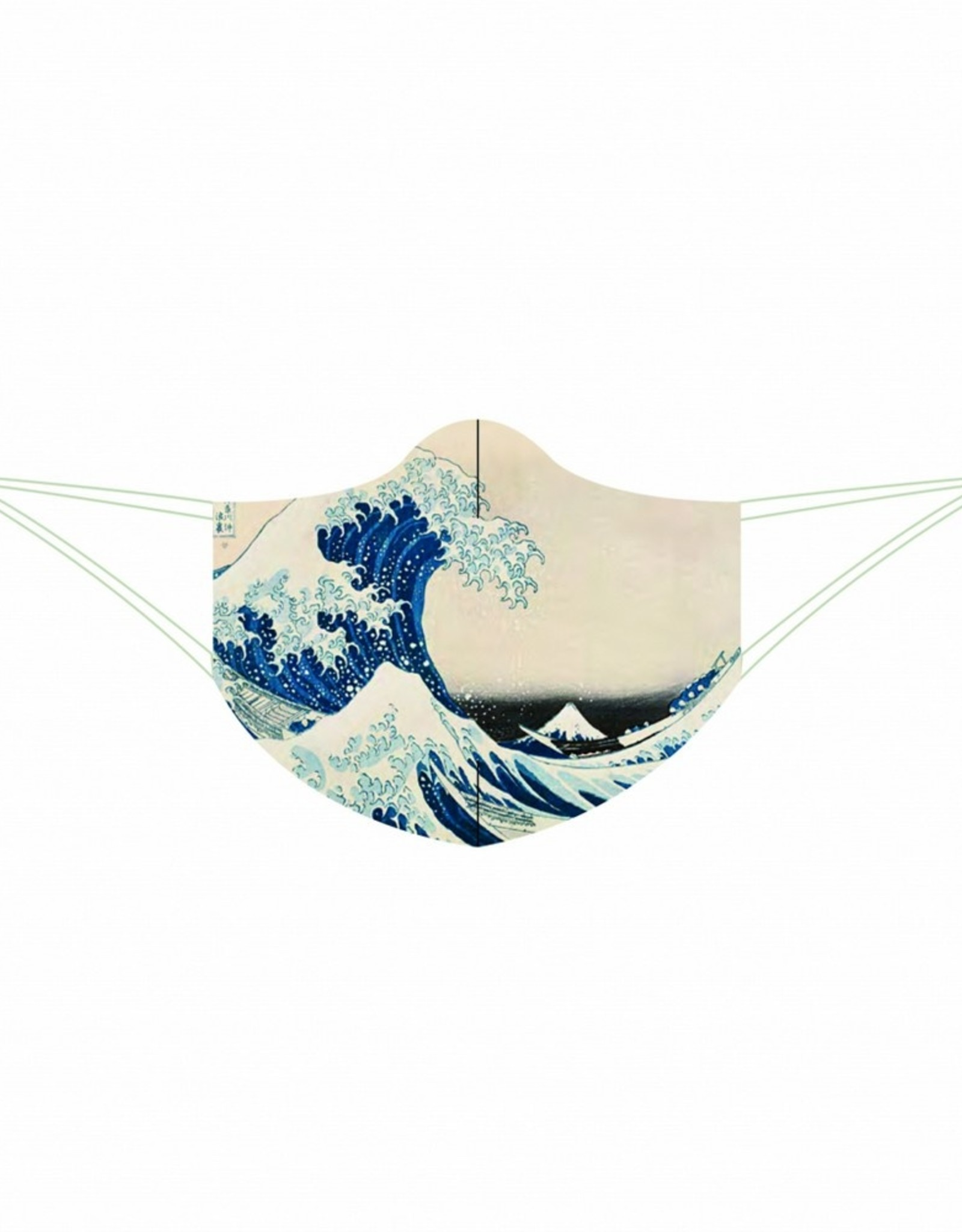 Loqi Mondkapje  Loqi The Great Wave